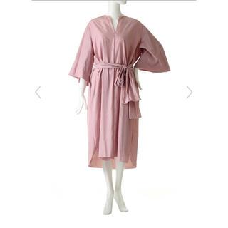 ドゥロワー(Drawer)の【THE ROW】DARROW ピンク ドレス ワンピース(ロングワンピース/マキシワンピース)