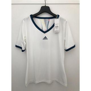 adidas - adidas レディース テニスウエア Tシャツ OTサイズ