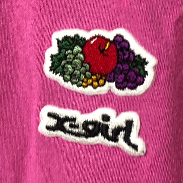 X-girl(エックスガール)のTシャツ X-girl エックスガール レディースのトップス(Tシャツ(半袖/袖なし))の商品写真