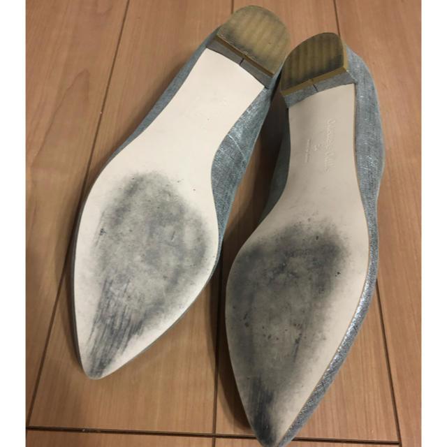 Odette e Odile(オデットエオディール)のOdette e Odile  ラメフラットシューズ 24cm レディースの靴/シューズ(ハイヒール/パンプス)の商品写真