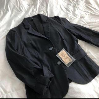 MUJI (無印良品) - フレンチリネン混 ストレッチジャケット M 定価7980円
