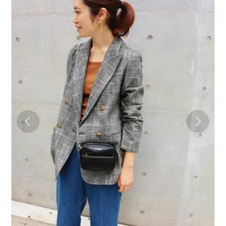IENA - IENA♡可愛い ダブルブレストジャケット