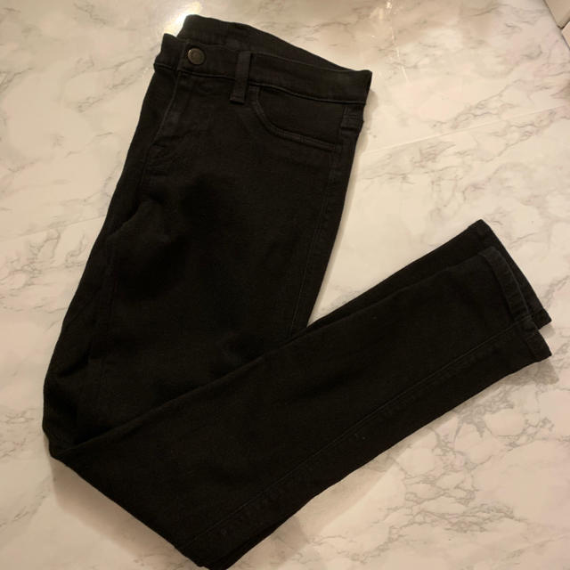 moussy(マウジー)のデニム マウジー ブラック サイズ2 レディースのパンツ(デニム/ジーンズ)の商品写真