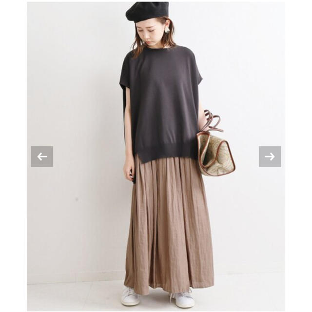 IENA(イエナ)のIENA ヴィンテージサテンマキシスカート レディースのスカート(ロングスカート)の商品写真
