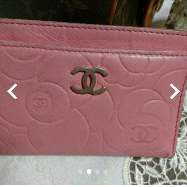 CHANEL(シャネル)のCHANEL カードケース レディースのファッション小物(名刺入れ/定期入れ)の商品写真