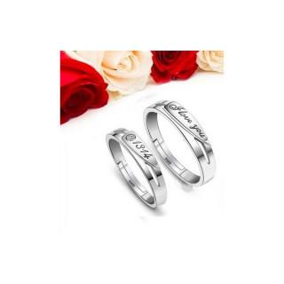 送料無料 シルバー リング ペア プレゼント 指輪 セット カップルA(リング(指輪))