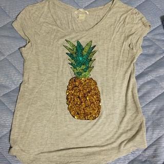 エイチアンドエム(H&M)のパイナップル Tシャツ(Tシャツ(半袖/袖なし))