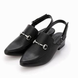 コムサイズム(COMME CA ISM)のコムサイズム  タグ付き ベルト付きミュール(ローファー/革靴)