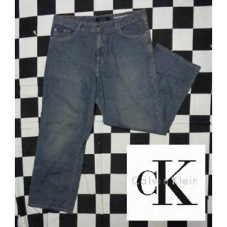 カルバンクライン(Calvin Klein)の【 カルバン・クラインジーンズ】W36デニムストレートGパン(デニム/ジーンズ)