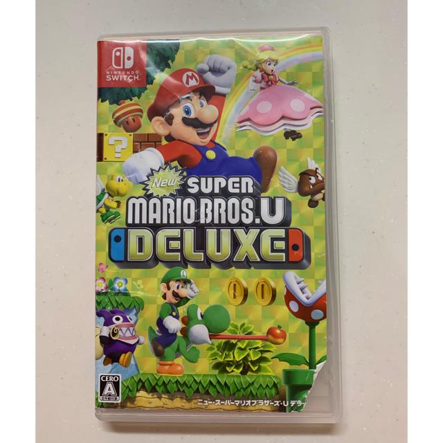 Nintendo Switch(ニンテンドースイッチ)のスーパーマリオブラザーズ エンタメ/ホビーのゲームソフト/ゲーム機本体(家庭用ゲームソフト)の商品写真