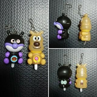アンパンマン - バイキンマン&チーズのキーホルダー