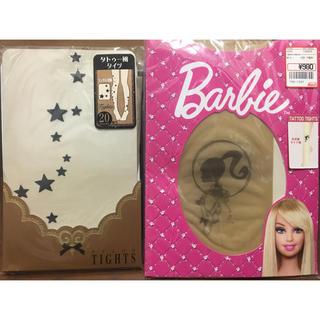 バービー(Barbie)のBarbie★バービー★タトゥータイツセット新品(タイツ/ストッキング)