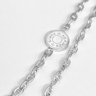 Hermes - エルメス プレミア シェーヌダンクル ネックレス 50cm