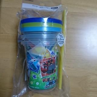 ポケモン(ポケモン)のポケットモンスター☆ストロー付タンブラー3個セット(タンブラー)