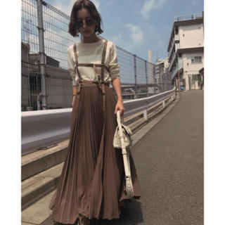 Ameri VINTAGE - HARNESS SUSPENDER SKIRT   アメリヴィンテージ