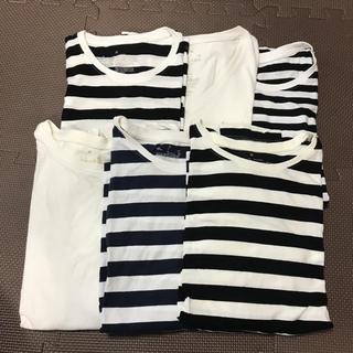 MUJI (無印良品) - 無印良品 ロンT&Tシャツ 6枚set