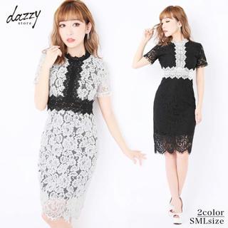 dazzy store - dazzystore デイジーストア ドレス ワンピース 総レース キャバドレス