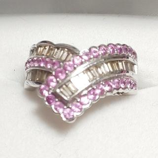 再お値下げ!ダイヤモンド&サファイア♡リング(リング(指輪))