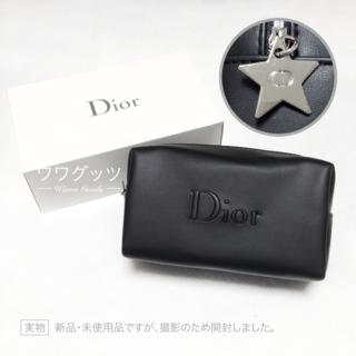 Dior - 新品♥ Dior ポーチ ブラック 星形チャーム