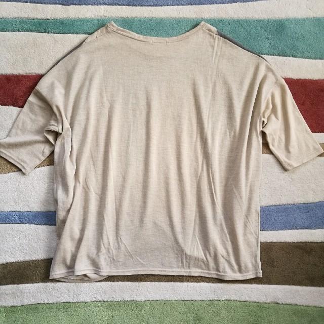 BORN FREE ORIGINALS☆ドレープTシャツ レディースのトップス(Tシャツ(長袖/七分))の商品写真