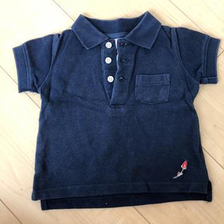 ベルメゾン(ベルメゾン)の【送料込み】ベルメゾン ポロシャツ サイズ80(シャツ/カットソー)
