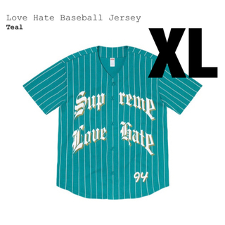 Supreme - supreme Love Hate Baseball Jersey