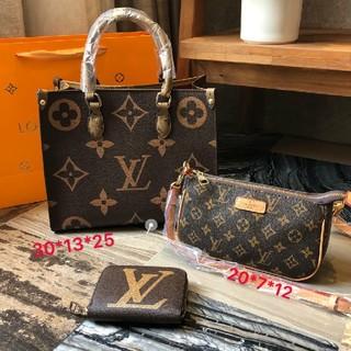 LOUIS VUITTON - LVハンドバッグ+ショルダーバッグ+財布