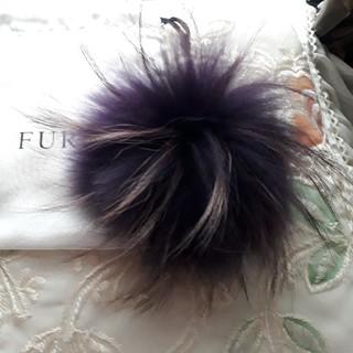 フルラ(Furla)のフルラ ファー キーホルダー キーリング バッグチャーム(バッグチャーム)