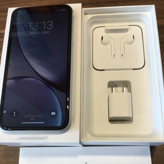 iPhone - iPhone XR 64GB WHITE 未使用品