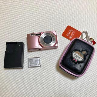 リコー(RICOH)のデジタルカメラ、RICOH CX6、ムーミンカメラケース(コンパクトデジタルカメラ)
