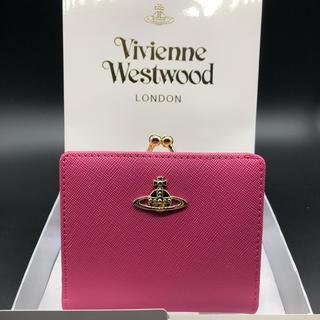 Vivienne Westwood - 【新品・正規品】ヴィヴィアン ウエストウッド 折り財布 がま口 706 ピーチ