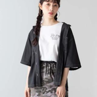 ウィゴー(WEGO)の*ステッチダブルポケットシャツ*(シャツ/ブラウス(半袖/袖なし))