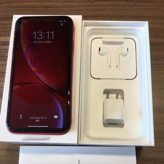 Apple - iPhone XR 64GB RED 未使用品