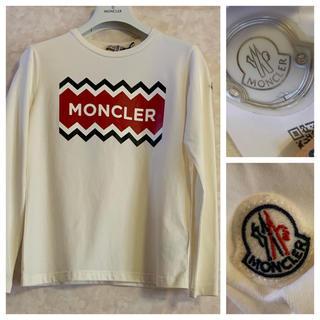 モンクレール(MONCLER)のモンクレール ロンT 正規品 カットソー 12  MONCLER 7号(Tシャツ(長袖/七分))