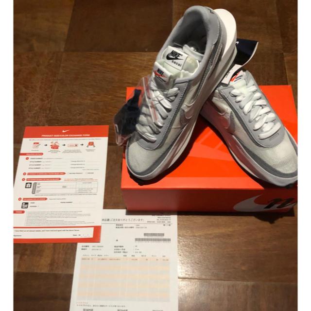NIKE(ナイキ)の27cm Nike sacai LDwaffle LD ワッフル White メンズの靴/シューズ(スニーカー)の商品写真