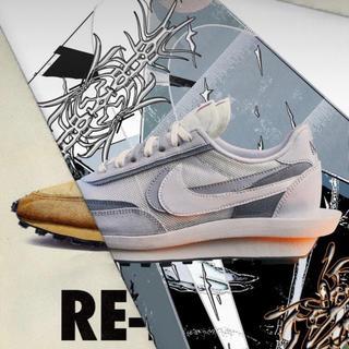 NIKE - 27cm Nike sacai LDwaffle LD ワッフル White