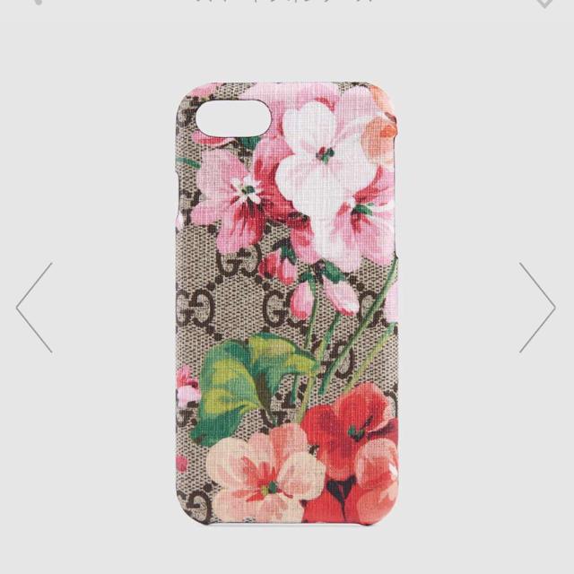 Gucci - GUCCI iPhone8ケース 花柄の通販