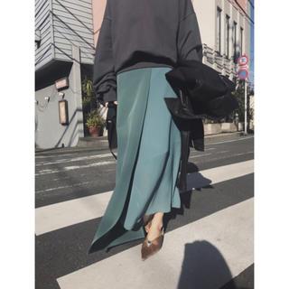 アメリヴィンテージ(Ameri VINTAGE)のAmeri vintage アシンメトリー スカート(ひざ丈スカート)