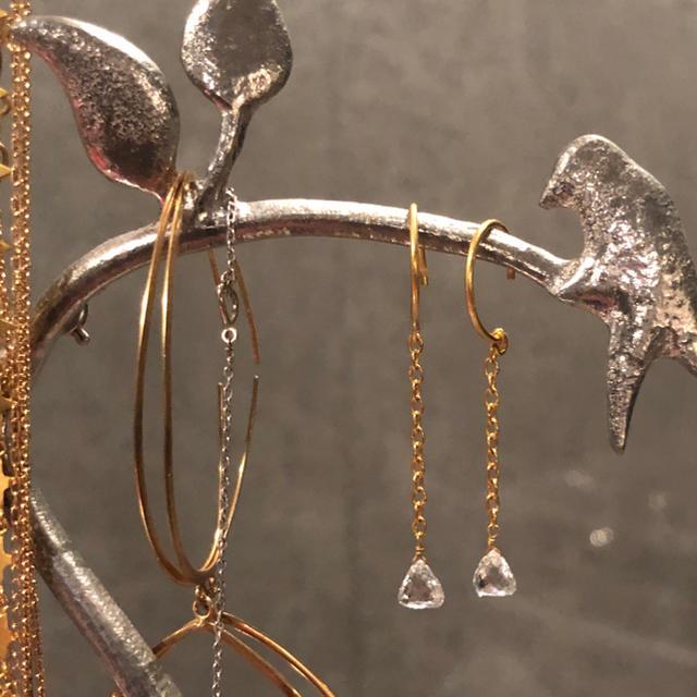 BARNEYS NEW YORK(バーニーズニューヨーク)の[ねむさま専用] 10月下旬 マリーエレーヌ MHT 大粒ダイヤモンド レディースのアクセサリー(ピアス)の商品写真