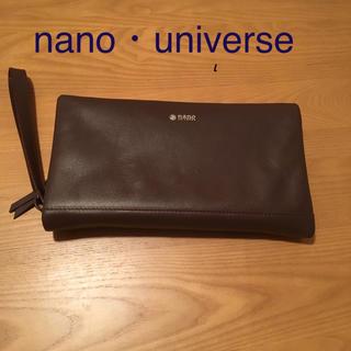 nano・universe - メンズ クラッチバッグ