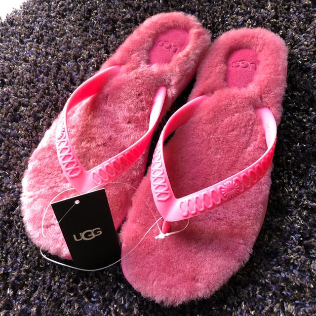 UGG(アグ)のUGG サンダル ファー レディースの靴/シューズ(サンダル)の商品写真