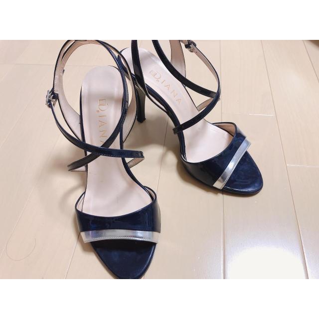 DIANA(ダイアナ)のDIANA サンダル  ネイビー ダイアナ レディースの靴/シューズ(サンダル)の商品写真