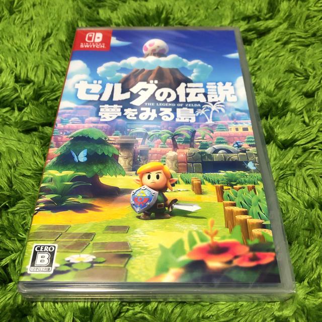 Nintendo Switch(ニンテンドースイッチ)のゼルダの伝説 夢をみる島 Nintendo Switch エンタメ/ホビーのゲームソフト/ゲーム機本体(家庭用ゲームソフト)の商品写真