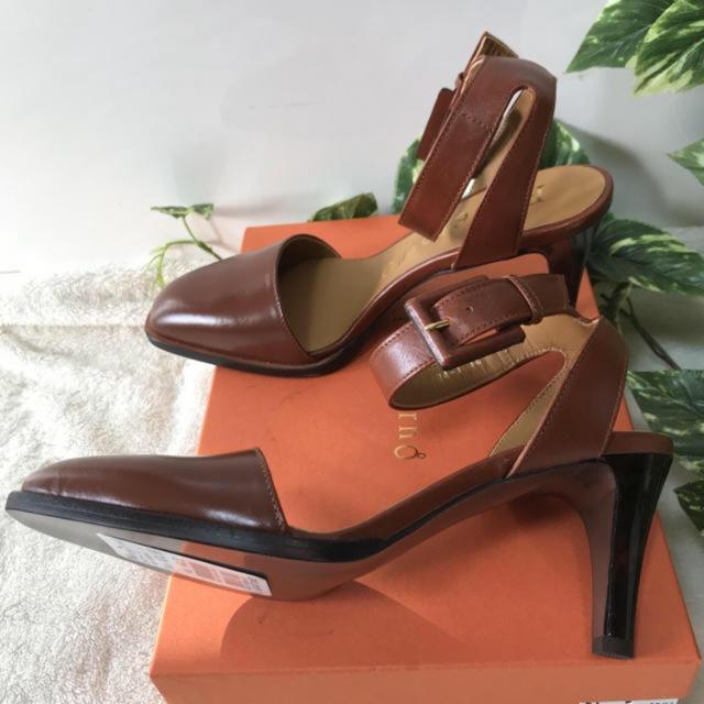 SCOT CLUB(スコットクラブ)の新品!スコットクラブ pelleterno 本革 上質ヒールパンプス34560円 レディースの靴/シューズ(ハイヒール/パンプス)の商品写真