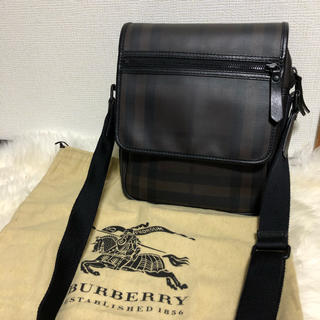 BURBERRY - Burberry レザー ショルダーバッグ
