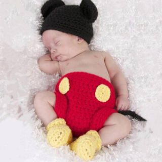 ディズニー(Disney)のミッキー 新生児コスチューム(その他)