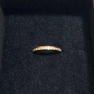 ジャムホームメイドアンドレディメイド(JAM HOME MADE & ready made)のダイヤモンドリング(指輪)13号、ピンクゴールド(リング(指輪))