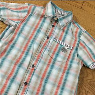 ディーゼル(DIESEL)の*値下げ ¥2111→¥1555  DIESEL チェック シャツ 130cm位(その他)