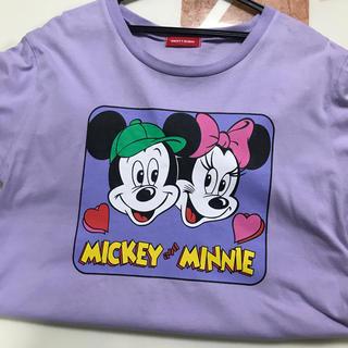 merry jenny - merry jenny ミッキーミニーコラボTシャツ