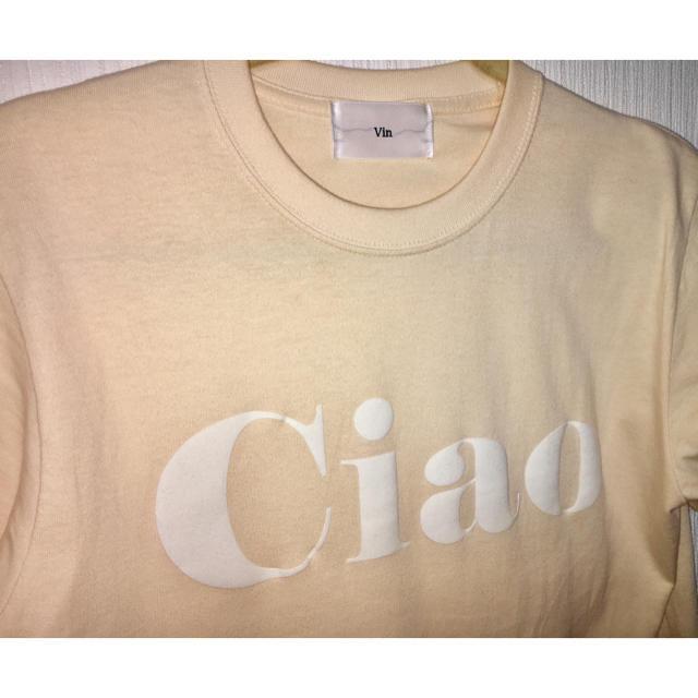SCOT CLUB(スコットクラブ)のvin☆CiaoロゴTシャツ☆YAMADAYA レディースのトップス(Tシャツ(半袖/袖なし))の商品写真